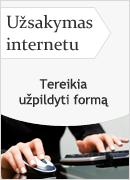 uzsakymas internetu